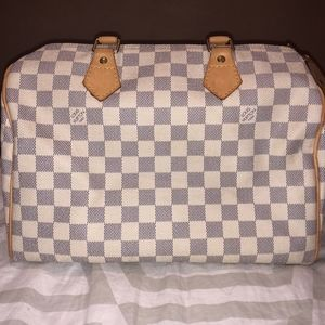 AUTHENTIC Louis Vuitton Damier Azul Speedy 30
